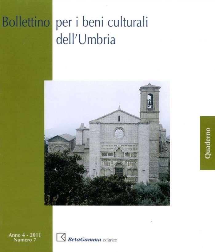 Bollettino per i Beni culturali dell'Umbria