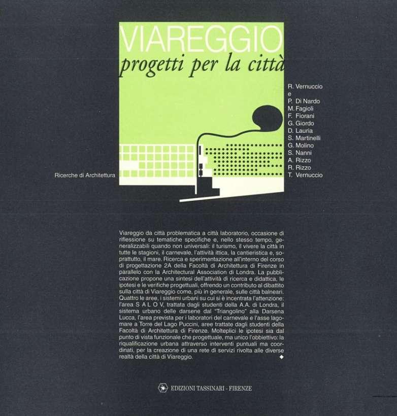 Viareggio. Progetti per la città