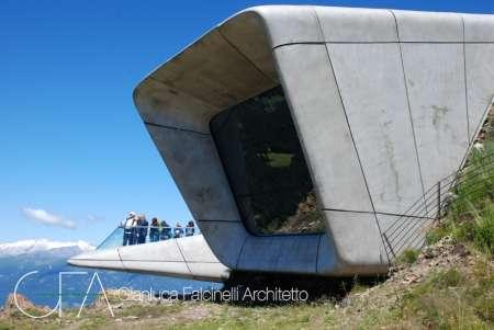 Messner Mountain Museum (MMM) - Zaha Hadid, Plan de Corones